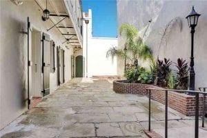 Beautful Courtyard - 1225 Bourbon Street - French Quarter