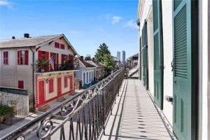 Elegant Balcony - 1225 Bourbon Street- French Quarter