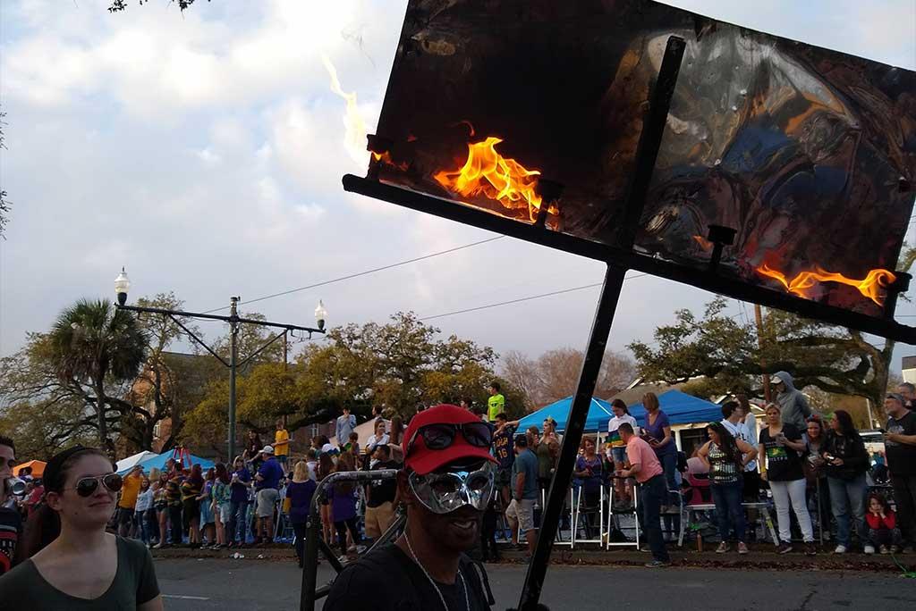 Mardi Gras Flambeau - New Orleans Local