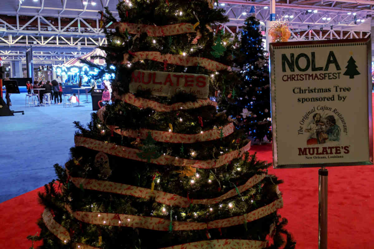Mulate's Christmas Tree - NOLA ChristmasFest - New Orleans Local