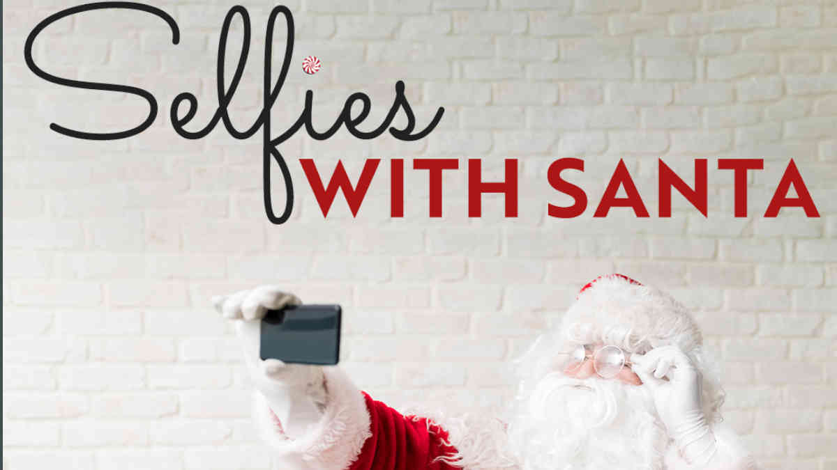 Selfie with Santa Clause 3- Canal Place Image