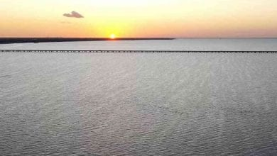 Photo of Sunset Over Lake Pontchartrain