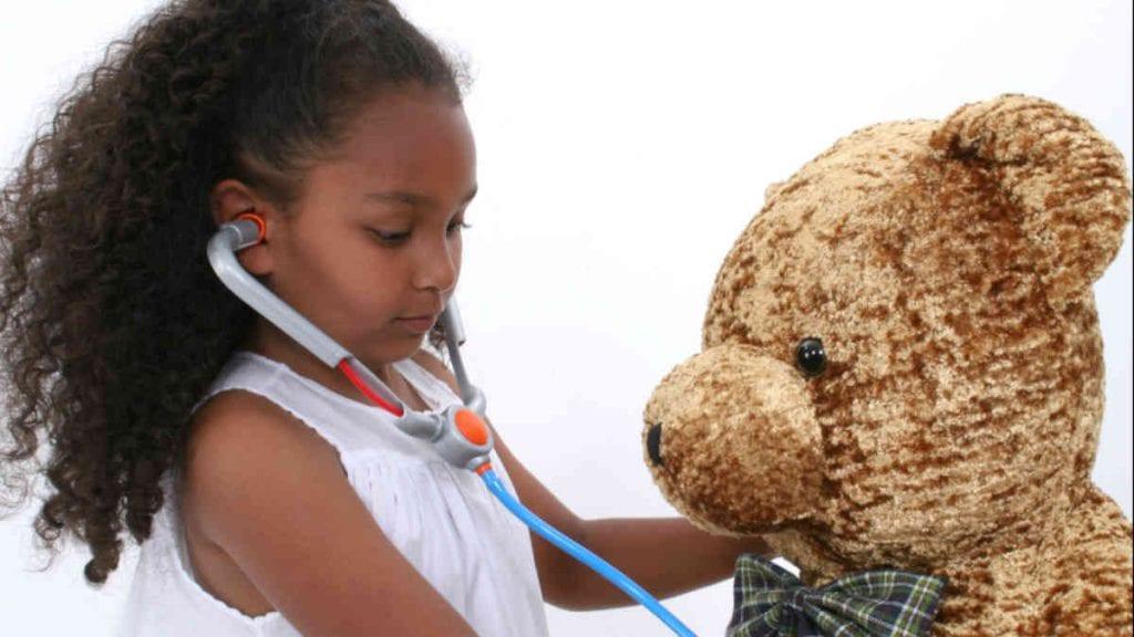 Teddy Bear & Girl - New Orleans Local