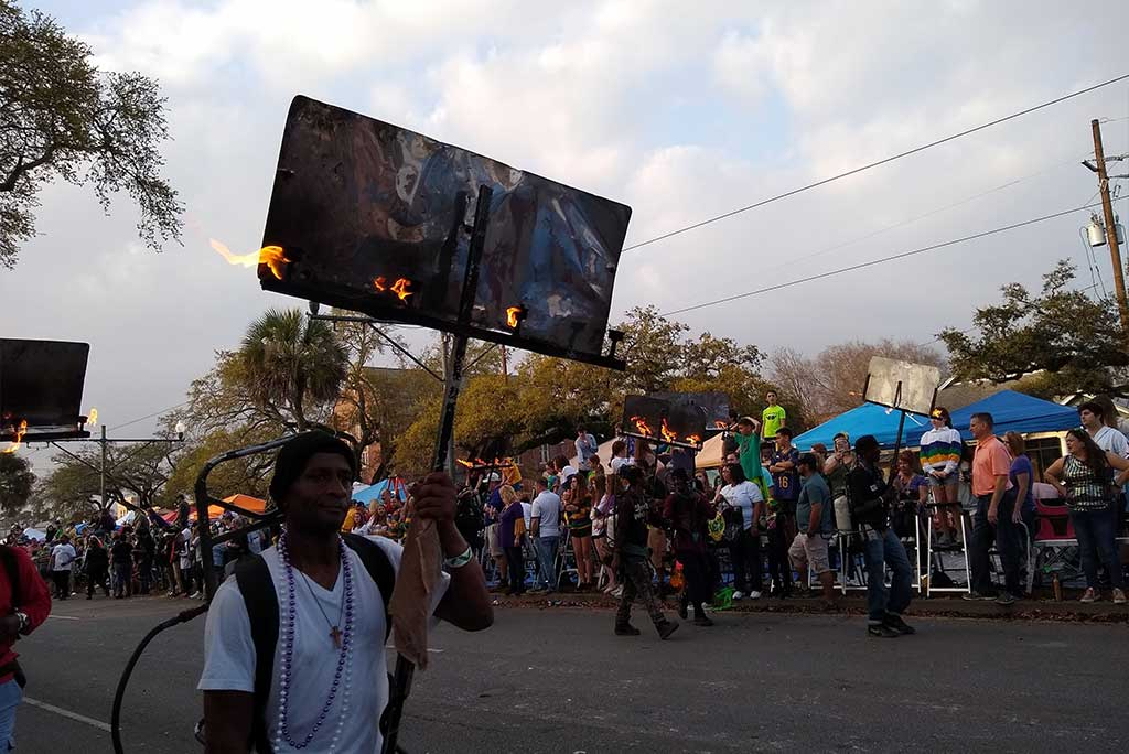 What are the Mardi Gras Flambeaux?- New Orleans Local