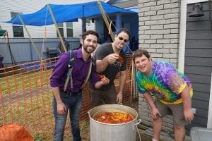 Cooking Crawfish - Samadi Gras - New Orleans Local