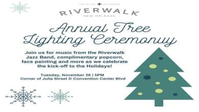 Photo of Riverwalk's Tree Lighting Ceremony