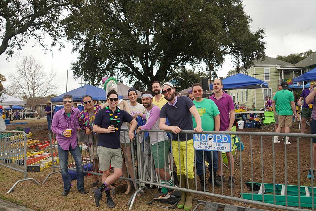 Samdi Gras - Neutral Ground Party - New Orleans Local