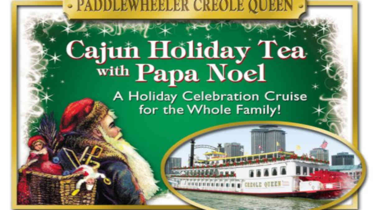 Cajun Holiday Tea With Papa Noel