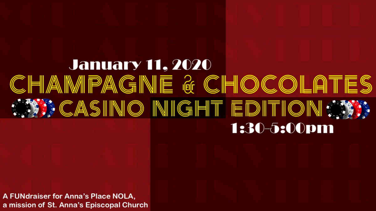 Champagne & Chocolates Casino Night Edition | New Orleans Local