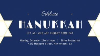 Photo of Hanukkah at Shaya
