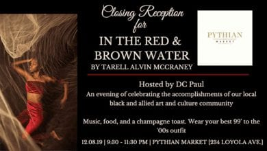 Photo of Closing Reception for In the Red and Brown Water by Tarell Alvin McCraney