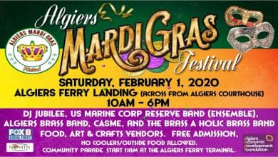 Algiers Mardi Gras Festival