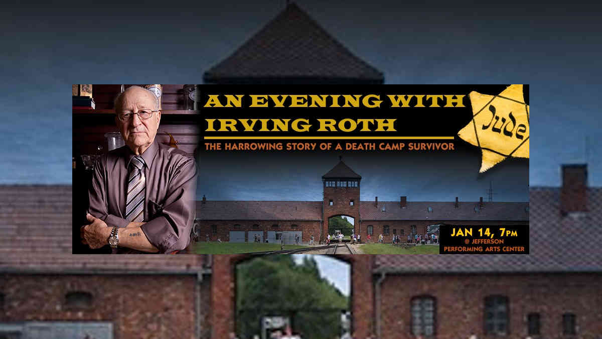 An Evening with Erving Roth | New Orleans Local
