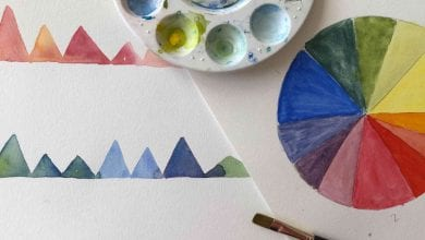 Photo of Craft Happy Hour: Watercolor Techniques with Frances Rodriguez