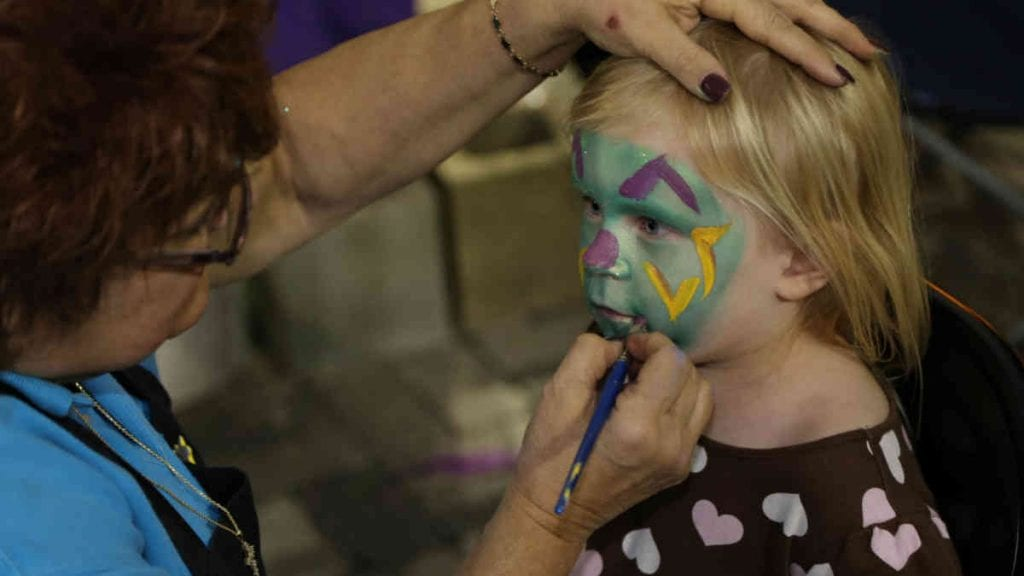 Family Gras 2020 Face Painting | New Orleans Local