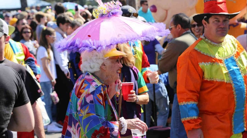 Grandmother at Mardi Gras | New Orleans Local