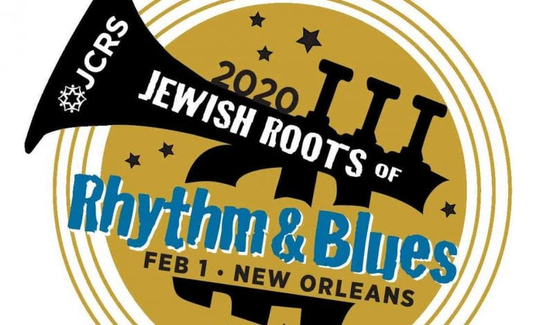 Jewish Roots rhythm & Blues 2020 Logo | New Orleans Local