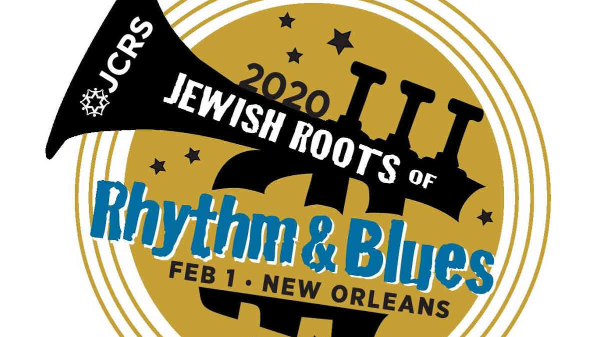 Jewish Roots rhythm & Blues 2020 Logo   New Orleans Local