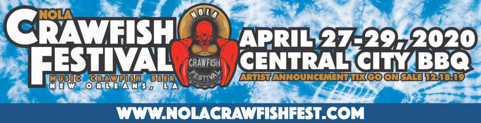 NOLA Crawfish Festival Header | New Orleans Local