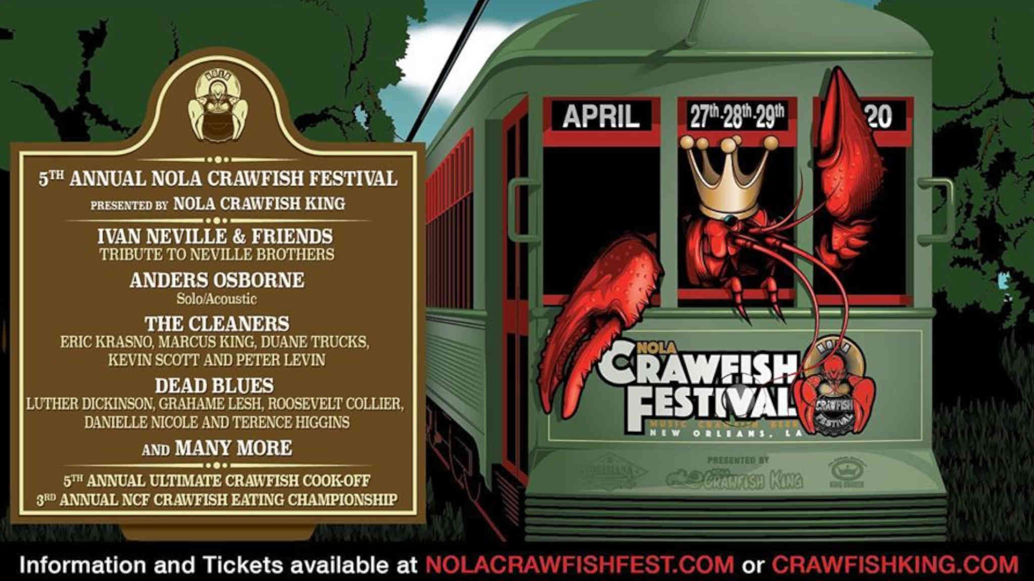 NOLA Crawfish Festival | New Orleans Local