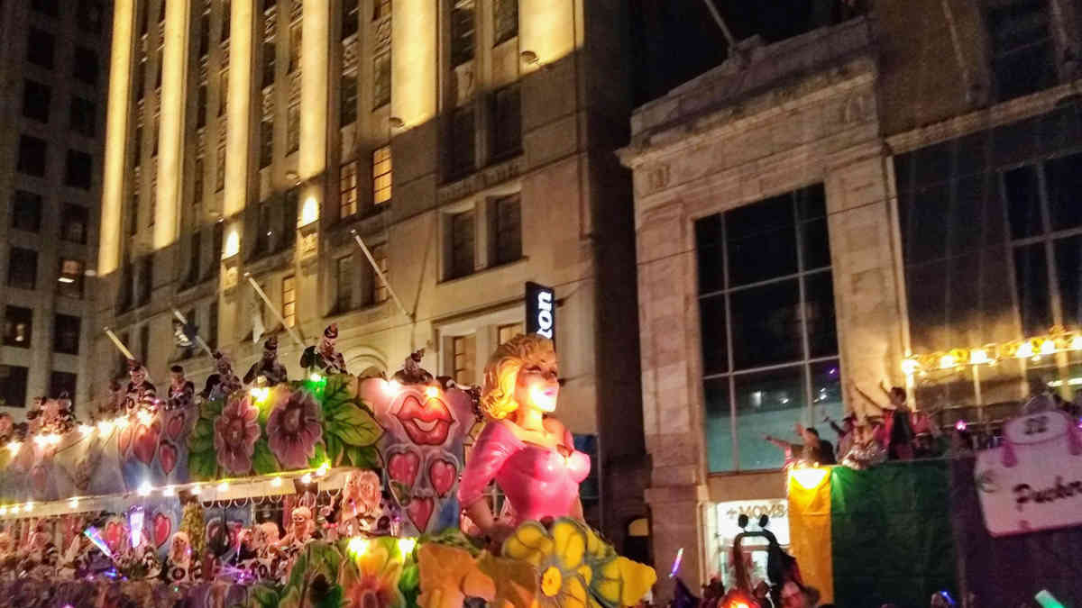 NYX Parade Float | New Orleans Local