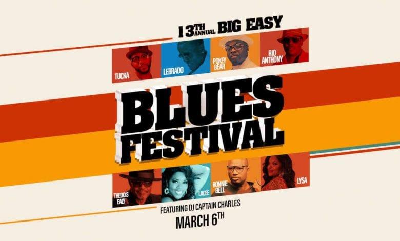 13th Annual Big Easy Blues Festival