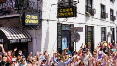 Photo of Chris Owens French Quarter Easter Brunch & Parade