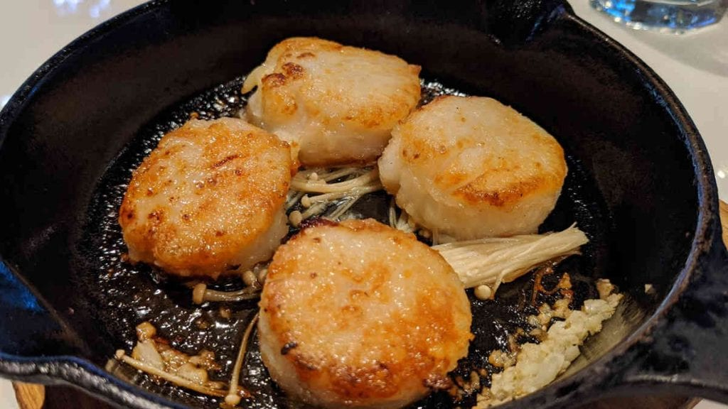 Daiwa Baked Scallops | New Orleans Local Review