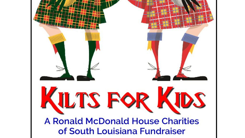 Kilts for Kids Logo | New Orleans Local