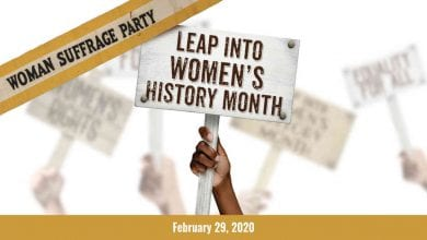 Photo of Leap into Women's History Month