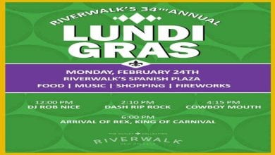 Photo of Riverwalk's 34th Annual Lundi Gras