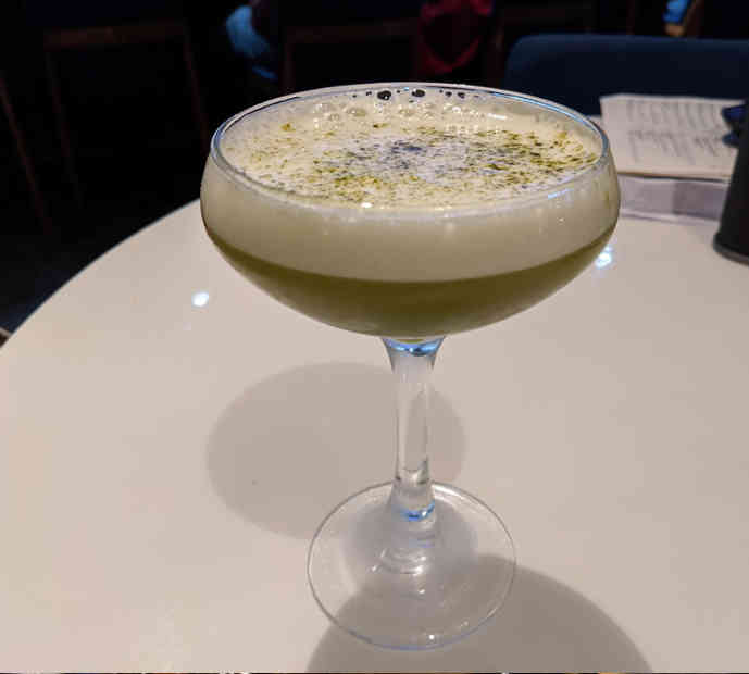 Matcha Cocktail - Daiwa | New Orleans Local Review