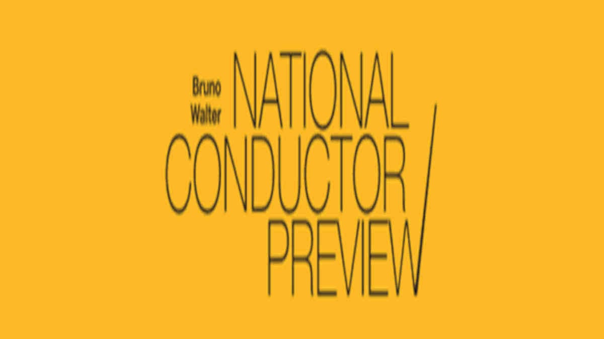 National Conductor Preview