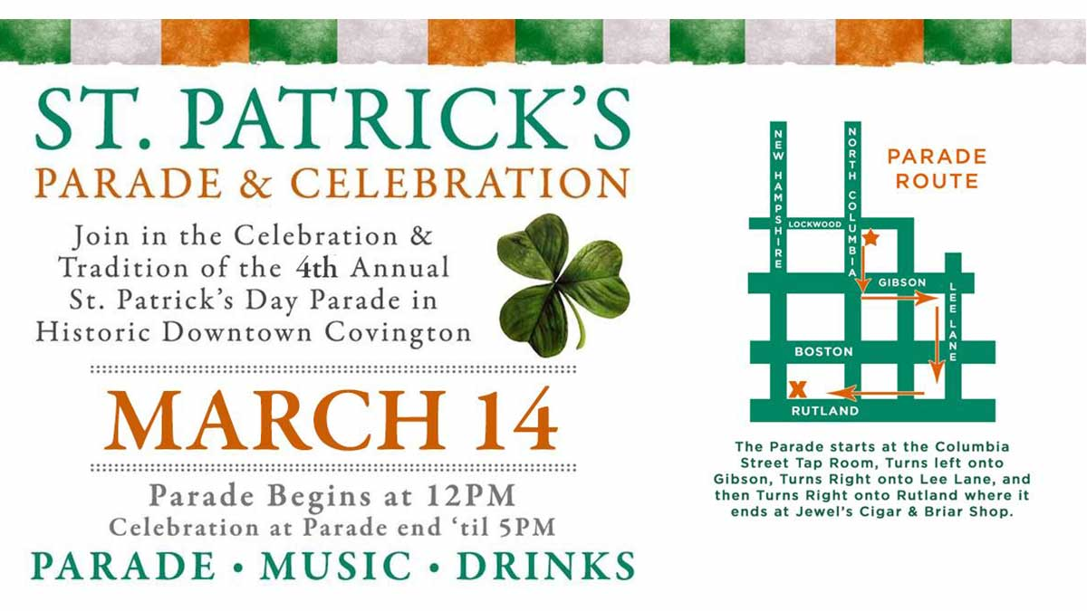St. Patrick's Day Celebration and parade Covington | New Orleans Local