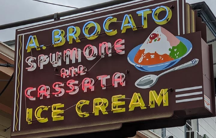 Brocato sign | New Orleans Local