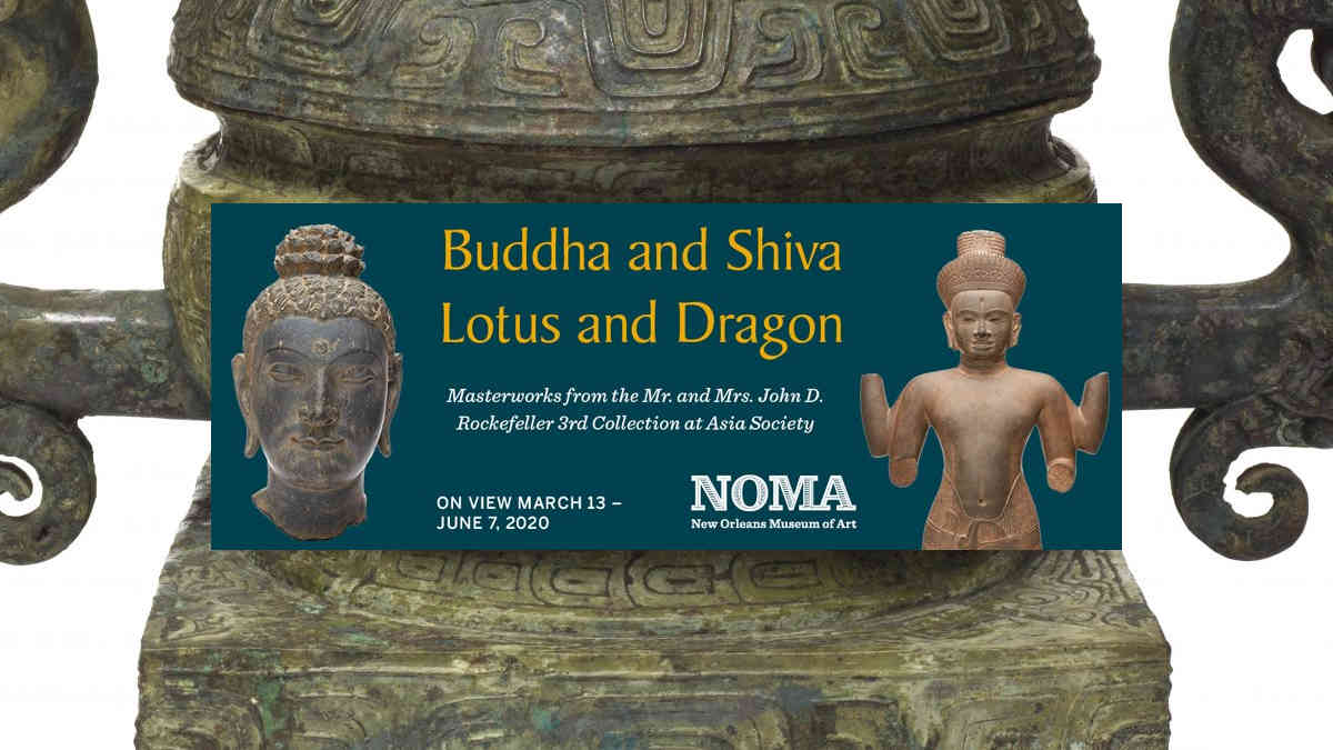 Buddha and Shiva Lotus and Dragon | New Orleans Local Events
