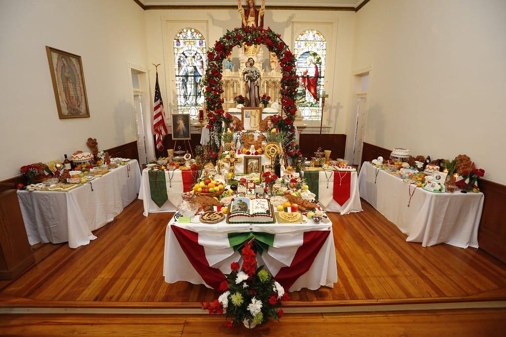 Cabrini St. Joseph Altar