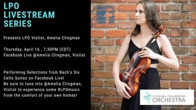 Photo of LPO Livestream Series featuring Violist, Amelia Clingman