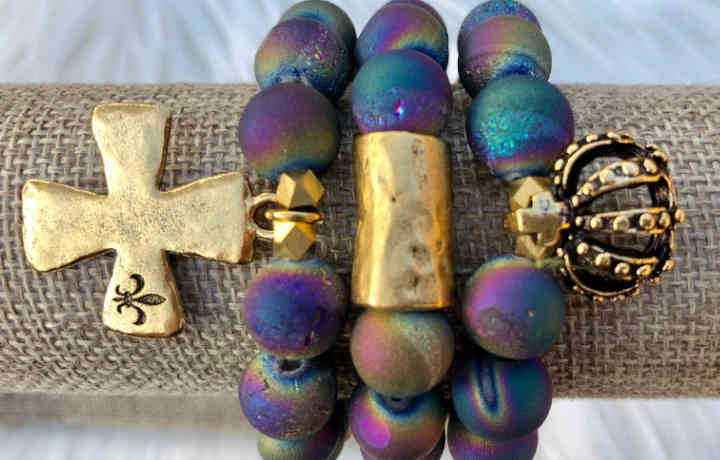 Rainbow Bracelet Rachel Maddox Designs | New Orleans Local