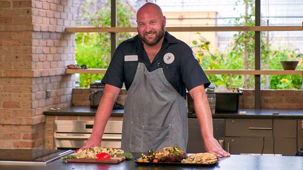 Chef Pat White - Botanical Gardens