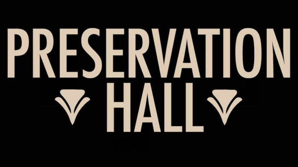 Presevation Hall Logo