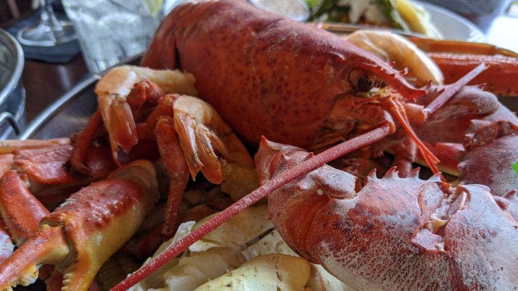 Desi Vegas Seafood - Lobster