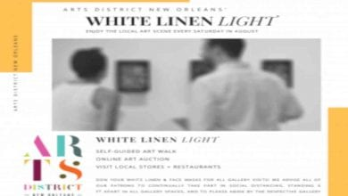 Photo of White Linen Light