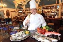 Andrea's Restaurant Food & Stan Harris