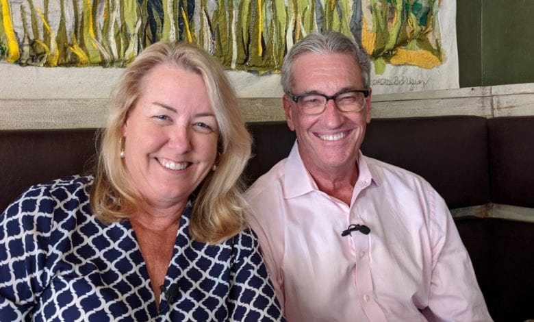 Lifting Community Spirits: Fred Holley & Lisa (Gleason) Blount