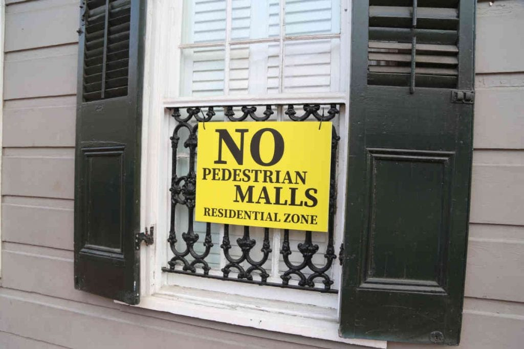 Residential Zone - French Quarter Window