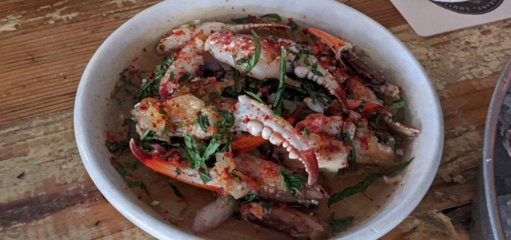 Peche Crab Claws & Lisa (Gleason) Blount