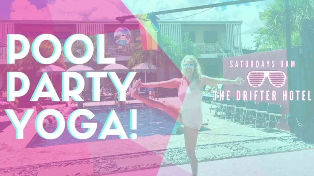 Pool Party Yoga