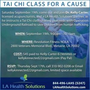 LA-Health-Tai-Chi-New Orleans Local Event, Thai Chi Class