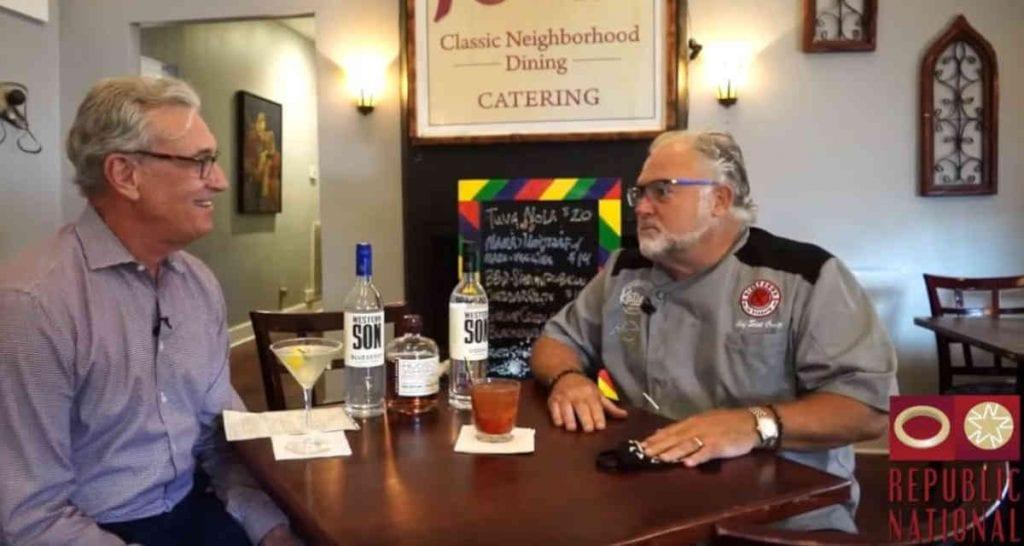 Scot Craig & Fred Holley Lifting Community Spirits